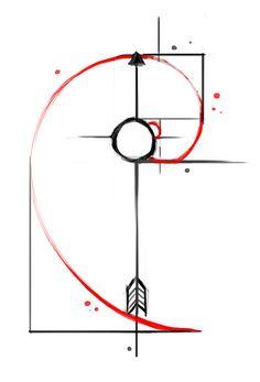 Fibonacci tattoo design ideas 23
