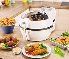 Features of the deep fryers New Cooking, Cooking Time, Tefal Actifry, Multicooker, Heating Element, Yum Yum Chicken, French Fries, Air Fryer Recipes, Nespresso
