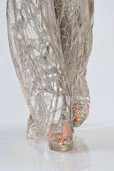 #Embellished silver pants