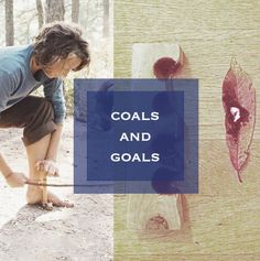 Coals and Goals~Topanga Ss, Polaroid Film, Goals