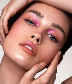Pink Makeup, Cute Makeup, Pretty Makeup, Colorful Makeup, Beauty Makeup, Hair Makeup, Awesome Makeup, Vogue Makeup, Gorgeous Makeup