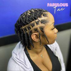 Dreads Short Hair, Short Dreadlocks Styles, Short Locs Hairstyles, African Natural Hairstyles, Dreadlock Styles, Cool Hairstyles, Natural Hair Twists, How To Grow Natural Hair, Natural Hair Styles