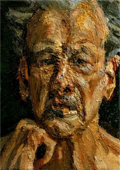 Self Portrait Reflection - Lucian Freud - 2004