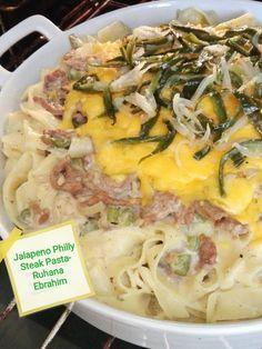Jalapeno Philly Steak Pasta by Ruhana Ebrahim