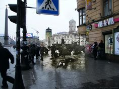 Old photo blended with modern setting. Amazing . . ..Sergey Larenkov. Siege of Leningrad during WWII