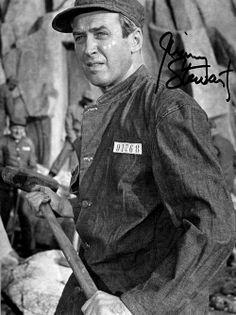 "James Stewart en ""Carabina Williams"", 1952"