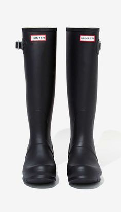 Hunter Original Tall Rainboot - Black Size 7 please OR any other cute rain boots :)