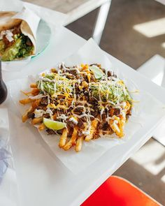 Angus Steak  Fries  Guacamole  Sour Cream  Cheese = The Way You Cap Off A Fri(e)day  #LetsTaco  #TheTacoStand