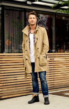Look du Jour: Informalizando Com Jeans e Trench Coat