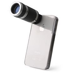 Telescope 6X Zoom Camera + Case Holder for iPhone 4/4S by Conice