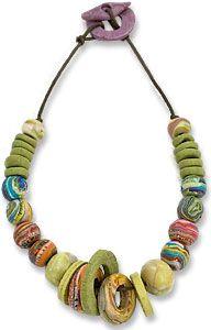 France's Danièle Moucadel (fimotifimota) - loose style necklace