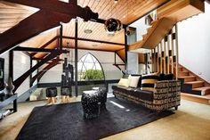 Modern Interior Design Ideas Transformed Anglican Church into Large Contemporary Home