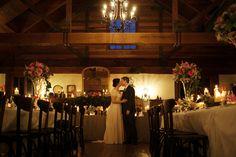 Bride & groom inside the charming Roberts Circa 1876 restaurant | PHOTO CREDIT: Something Blue Photography | @somethingblueau