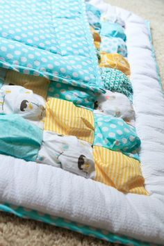 oooh i want i want i want.... puff quilt! :)