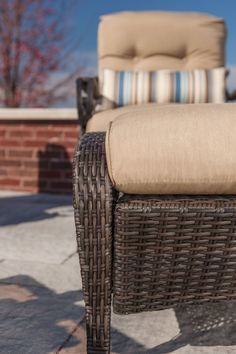 LaZBoy Outdoor Lake Como 6 Piece Deep Seating Resin Wicker Patio Furniture Conversation Set Khaki Tan: Loveseat Two Lounge Chairs Two Ottomans and Coffee Table With All Weather Sunsharp Cushions ** To view further for this item, visit the image link. (This is an affiliate link) #PatioFurnitureSets Resin Wicker Patio Furniture, Patio Furniture Sets, Outdoor Furniture, Outdoor Decor, Patio Loveseat, Lake Como, Lounge Chairs, Ottomans, Conversation
