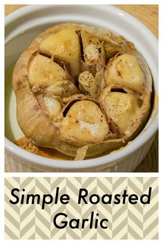Follow this simple roasted garlic recipe to turn whole bulbs of garlic into sweet and savoury roasted garlic for use in pasta, salads, and to top pizzas.