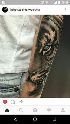 40 Tiger Eyes Tattoo Designs For Men