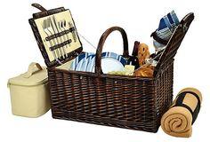 picnic basket aww :)