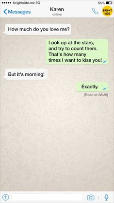 24Texts from People Who Have NoTime for All This Flirty Business