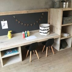 baby room ideas 438256607492499028 - Houten speeltafel met krijtbord, knutseltafel, kinderbureau Source by handinwiddie Childrens Play Table, Kid Spaces, Small Spaces, Toddler Playroom, Small Kids Playrooms, Montessori Toddler Rooms, Kids Rooms, Kids Corner, Corner Desk