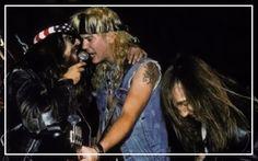 Del James, Duff McKagan et West Arkeen.