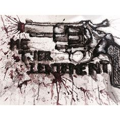 Me tuer lentement #french#killingmeslowly#art#watercolor#myart#kill#gun