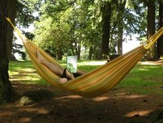 i must get a hammock for the new backyard.  must.