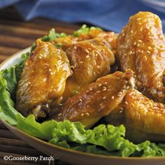 Gooseberry Patch Recipes: Honey Sesame Wings from 101 Slow-Cooker Recipes