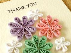 "THANK YOU カード:三つのデー…|ハンドメイド作品の購入・販売 ""iichi"""
