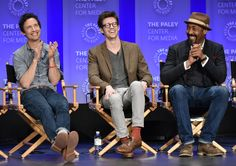 Photos from the Arrow and Flash spotlights at the 2015 PaleyFest Flash Barry Allen, Geoff Johns, Dc Comics Characters, The Cw, The Flash, Comic Character, Writer, American