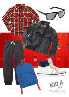 Boys style inspired by The Breakfast Club #kids