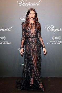 sara-sampaio: Sara Sampaio attends the Chopard Party during