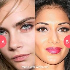 Natural eyebrows or tweezed? Click here to vote @ http://getwishboneapp.com/share/10540400