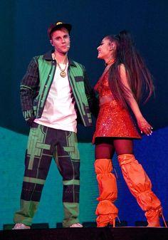 Ariana Grande Justin Bieber, Justin Bieber Fotos, Ariana And Justin, Justin Bieber Pictures, Justin Bieber Photoshoot, Ariana Grande Concert, Anna Nicole Smith, Sarah Michelle Gellar, Lea Michele