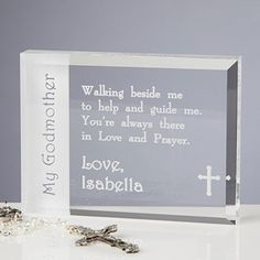 Personalised godparent godmother godfather frame and thank you to my godparent personalized keepsake godmother giftspersonalized baby giftsparent negle Gallery