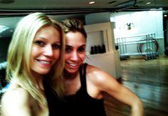 Stacey and Gwyneth