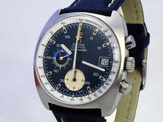 1974 Omega Seamaster Chronograph..  I should not have sold this watch.