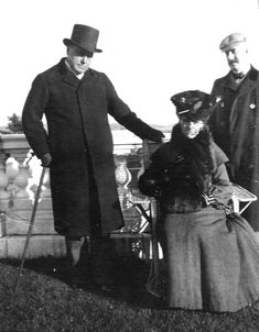 Henry James and Edith Wharton, 1904.