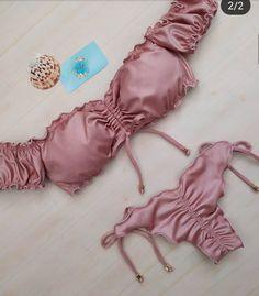 Baby Bikini, Bandeau Bikini, Bikini Swimwear, Cute Swimsuits, Women Swimsuits, Mode Du Bikini, Bikini Outfits, Summer Suits, Pretty Lingerie