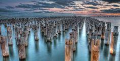 Port Melbourne (VIC) Australia - Princes Pier by Stefano Ferro on 500px
