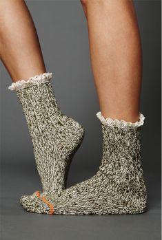 Free People socks; just in time for bootie season! love their socks.