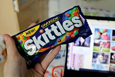 Skittles. ♥ my favorite (: