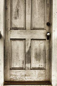 Sepia art print - old church door. Old Country Churches, Old Churches, Old Wood Doors, Barn Doors, Distressed Doors, Entry Hallway, Entry Doors, Entrance, Vintage Doors