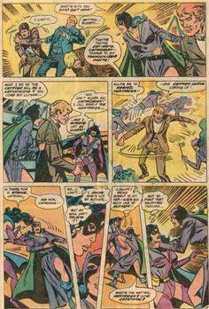Catwoman VS Huntress in Batman Family #17