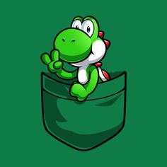 Drawing Superhero Check out this awesome 'Pocket Yoshi' design on Mario Brothers, Mario Bros, Gaming Wallpapers, Cute Wallpapers, Yoshi Drawing, Super Mario Art, Pocket Edition, Shirt Print Design, Mario Party