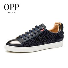 OPP Casual Sequins Men Shoes Leather Loafers New footwear 2018 Summer Mens  Shoes Loafers For Men 01904ee58184