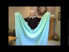 Como dobrar lençol com elástico | Fácil e Rápido
