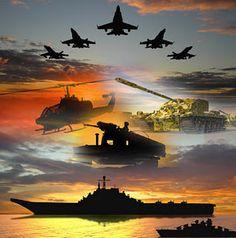 Thanks to USA Military