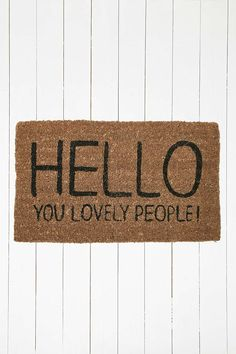 homely idea personalized door knocker. Shop Lovely People Door Mat at Urban Outfitters today  Nice Underwear mat Welcome Funny by ProBESTDESIGN