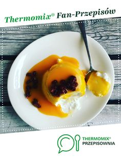 Fit Panna Cotta, recipe from the Desserts category. More recipes for Thermomix ® www. Panna Cotta, Breakfast, Panna Recipe, Ethnic Recipes, Fitness, Food, Female, Diet, Thermomix